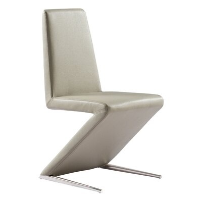 Beason Parsons Chair Upholstery: Taupe