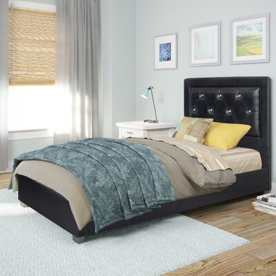 Jenson Upholstered Platform Bed Size: Single/Twin
