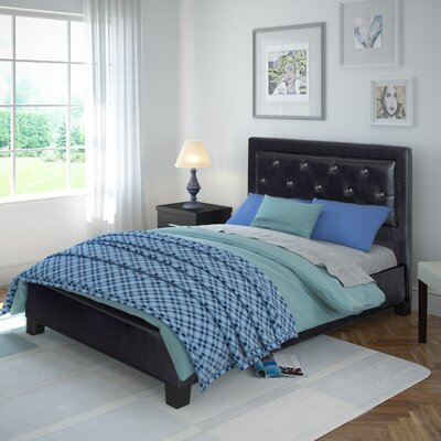 Jenson Upholstered Platform Bed Size: Double/Full
