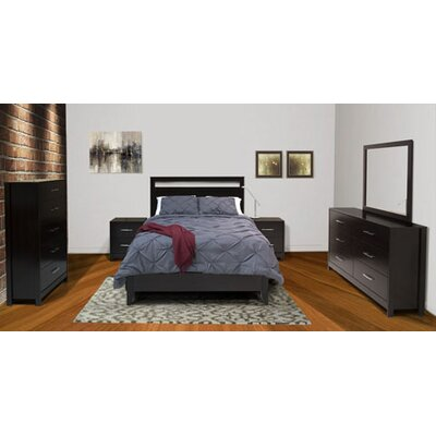 Cerberus Panel Customizable Bedroom Set