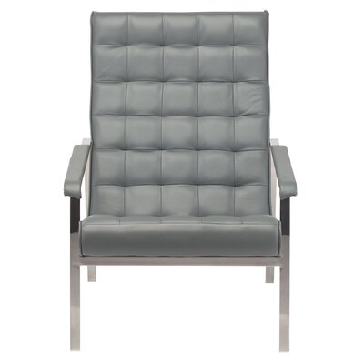 Burroughs Armchair Color: Gray