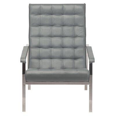 Salman Arm Chair Color: Gray
