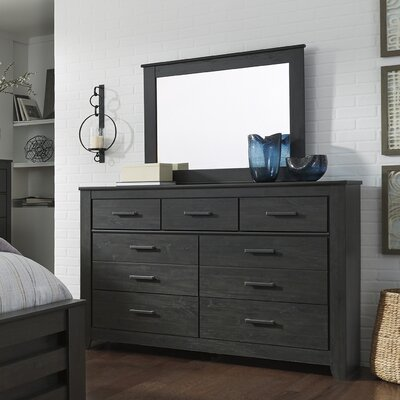 Talon 9 Drawer Dresser with Mirror