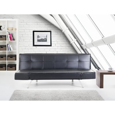 Abram Sleeper Sofa Upholstery: Black