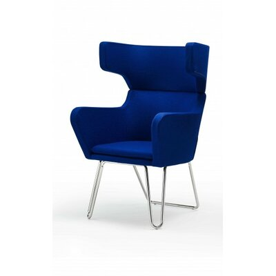Ace Accent Armchair Upholstery: Blue