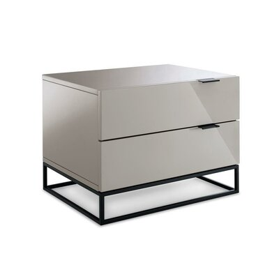 Aditya 2 Drawer Nightstand