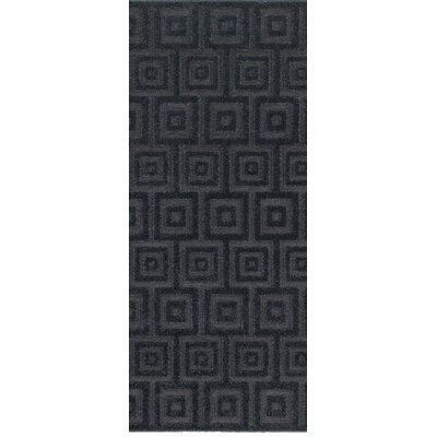 Fenella Solid Blue Area Rug Rug Size: Runner 22 x 76