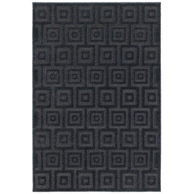 Fenella Solid Blue Area Rug Rug Size: Rectangle 66 x 96