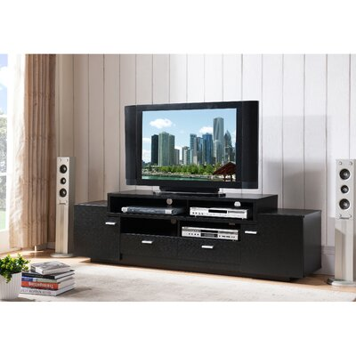 Aston 72 TV Stand Color: Black