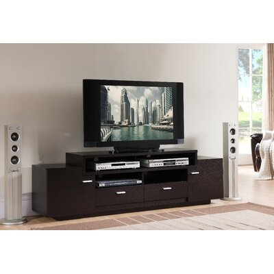 Aston 72 TV Stand Color: Cappuccino