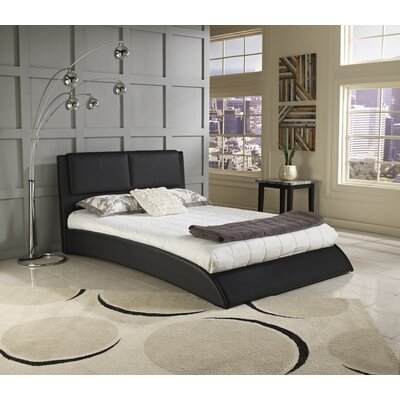 Musa Upholstered Platform Bed Size: Double