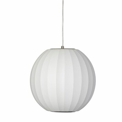 Kase 1-Light Globe Pendant