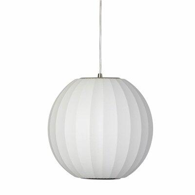 Kase 1-Light Globe Pendant