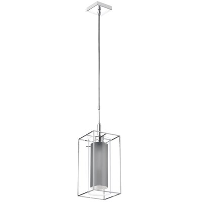 Doradus 1-Light Mini Pendant Shade Color: Camelot Gray