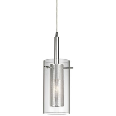 Fennia 1-Light Steel Mini Pendant Color: Polished Chrome