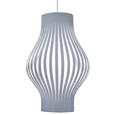Tammaro 6-Light Pendant Shade Color: Silver