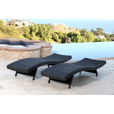 Canaan Chaise Lounge Finish: Black