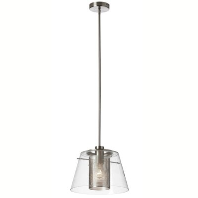 Kiuchi 1-Light Mini Pendant Finish: Polished Chrome