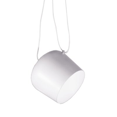 Atharva 1-Light Mini Pendant Finish: White
