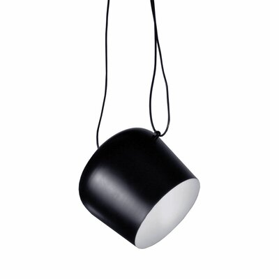 Atharva 1-Light Mini Pendant Finish: Black