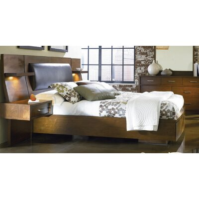 Julien Upholstered Platform Bed Size: Queen