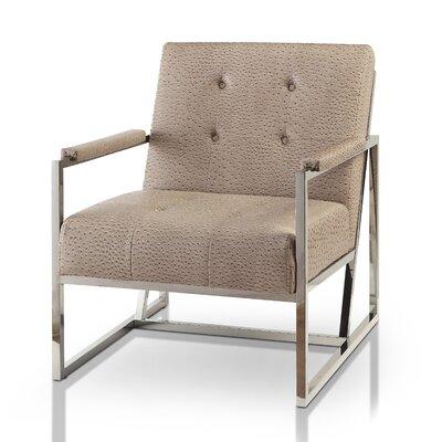 Ahaan Armchair Color: Brown