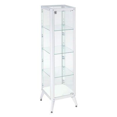 Ahmad Standard Curio Cabinet Finish: White