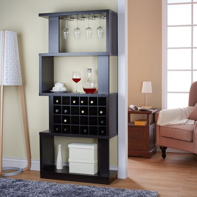 Anay 24 Bottle Floor Wine Rack