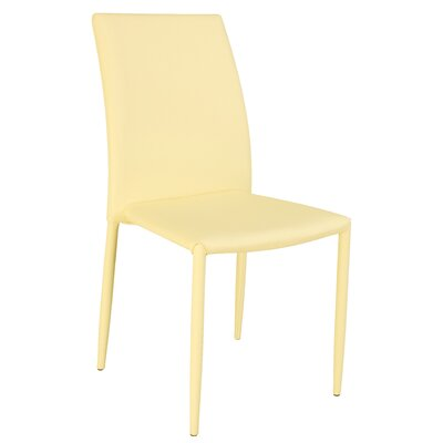 Farwell Side Chair (Set of 4) Finish: Yellow