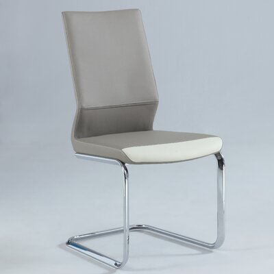Kellan Side Chair (Set of 2) Finish: Taupe