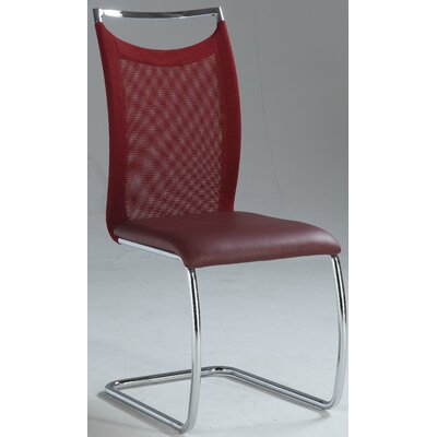 Kendrick Side Chair (Set of 2) Finish: Red