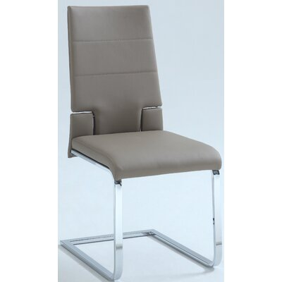 Siyad Side Chair (Set of 2) Finish: Taupe