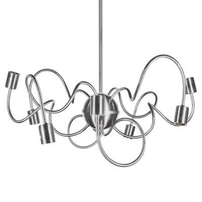 Debussy 8-Light 60W Sputnik Chandelier