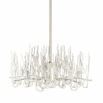 Heracles 8-Light Sputnik Chandelier Finish: Matte White