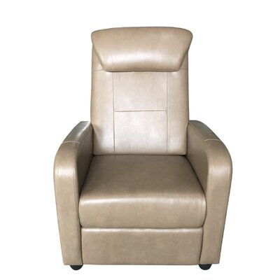 Koa Bueche Manual Lift Assist Recliner Upholstery: Taupe