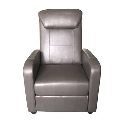 Koa Bueche Manual Lift Assist Recliner Upholstery: Gray