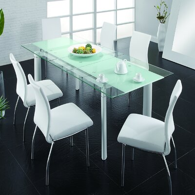 Bosarge Dining Table Top Finish: White
