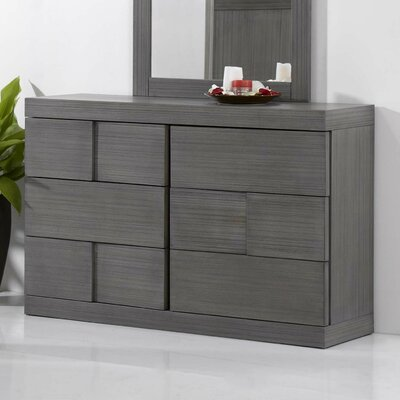 Yusuf 6 Drawer Standard Dresser