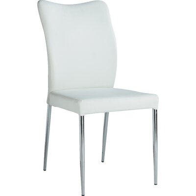 Zahir Side Chair (Set of 2) Side Chair Finish: White