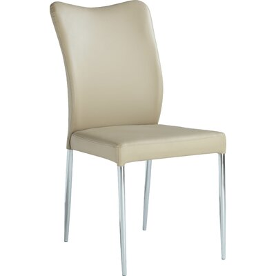 Zahir Side Chair (Set of 2) Side Chair Finish: Beige