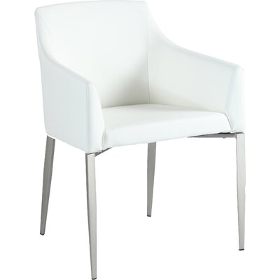 Zaiden Side Chair Side Chair Finish: White