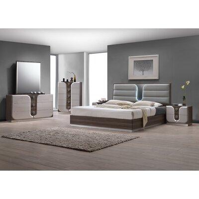 Anshul Platform Configurable Bedroom Set