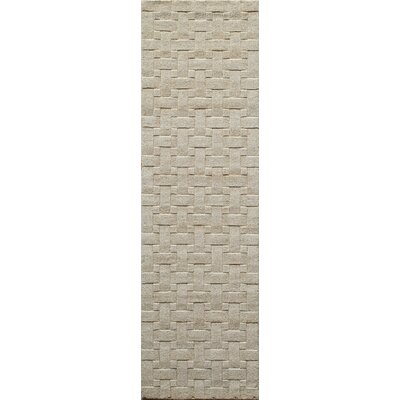 Walker Ivory Area Rug Rug Size: Rectangle 33 x 53