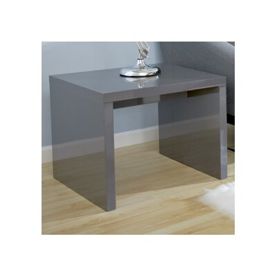 Bensenville Contemporary End Table Finish: Gray