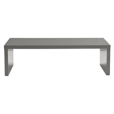 Bensenville Coffee Table Color: Gray Lacquer