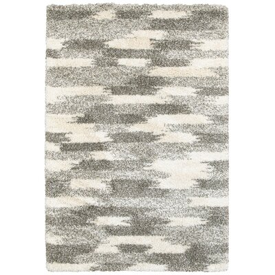 Leonard Gray/Ivory Area Rug Size: Rectangle 110 x 33