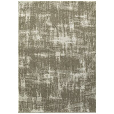 Leonidas Gray/Ivory Area Rug Size: Rectangle 910 x 1210