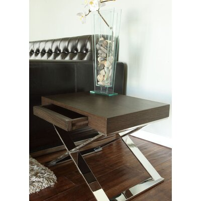 Roreti End Table Finish: Espresso