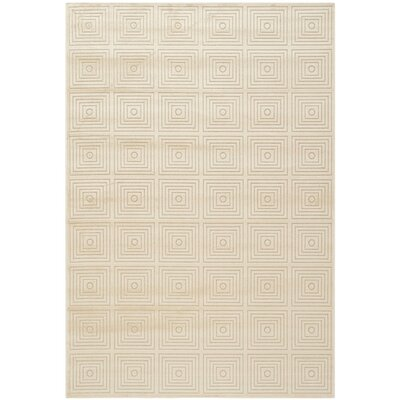 Lucian Beige Area Rug Rug Size: Rectangle 53 x 76