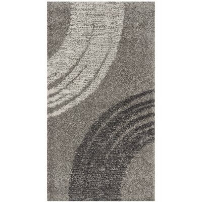 Kenzo Light Gray Area Rug Rug Size: Rectangle 2 x 37